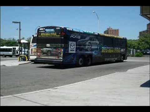 Route 190 Paterson New Jersey Transit D4500 8303 Youtube