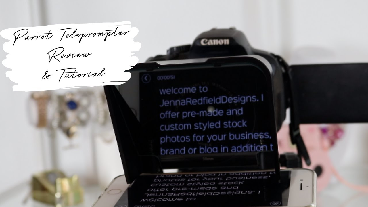 Parrot Teleprompter Review & Tutorial