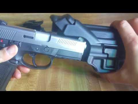 FNX 40 FNX 9 Level II 2 and III 3 Duty Holster - YouTube