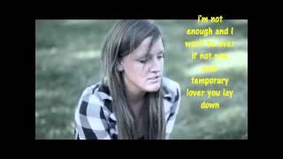 Katy Mcallister - Not Cut Out Lyrics - Full Song