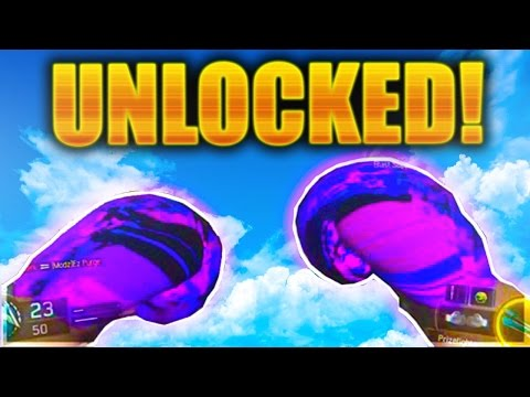 "UNLOCKING DARK MATTER ""PRIZEFIGHTERS"" BOXING GLOVES LIVE! BLACK OPS 3 CONTRACT COMPLETE BO3 GAMEPLAY"