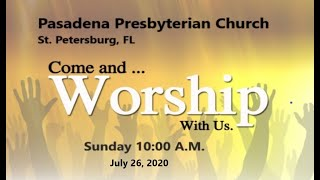 Sunday 7-26-2020 Online FULL Live Service