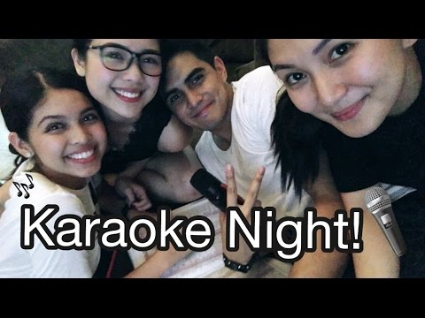 Maine Mendoza Karaoke Night with Friends!