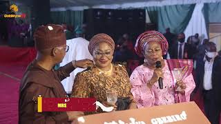 OONI OF IFE, OLUWO OF IWO, IYIOLA OMISORE  ATTEND 61ST BIRTHDAY OF OSUN FIRST, MRS KAFAYAT OYETOLA