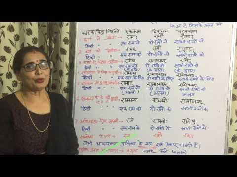 LESSON2 Shabd roop Sanskrit Anuvad Shikshan II with meaning