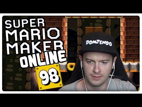 SUPER MARIO MAKER ONLINE Part 98: Krasse Level von deutschsprachigen Dudes
