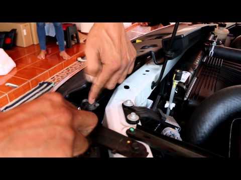 ถอดกระจังหน้า ford ranger T6 2012 2013 2014