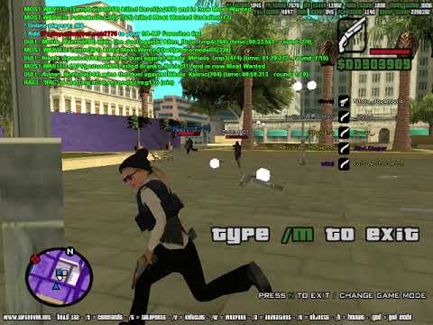 SAMP UIF Zone war against aimers, also teleport hack