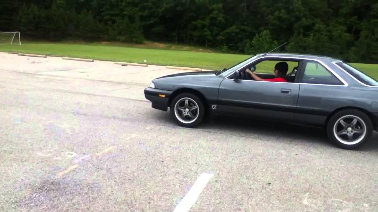 1990 Mazda mx6 - YouTube
