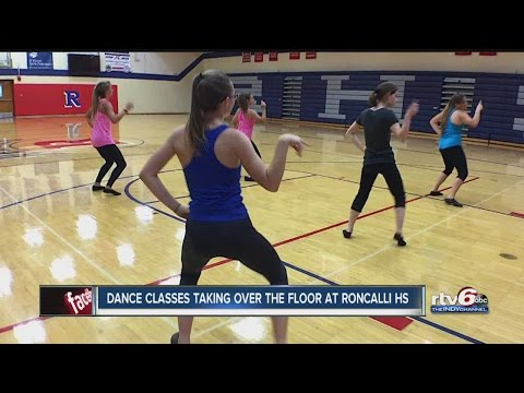 Dance classes taking over the floor at Roncalli High School