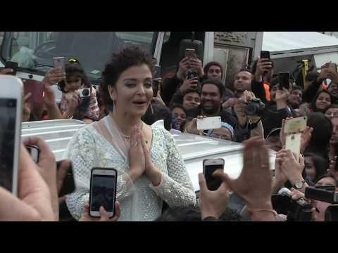 'Indian actress AiSHWARYA RAI causes mayhem in Melbourne' 12/8/17