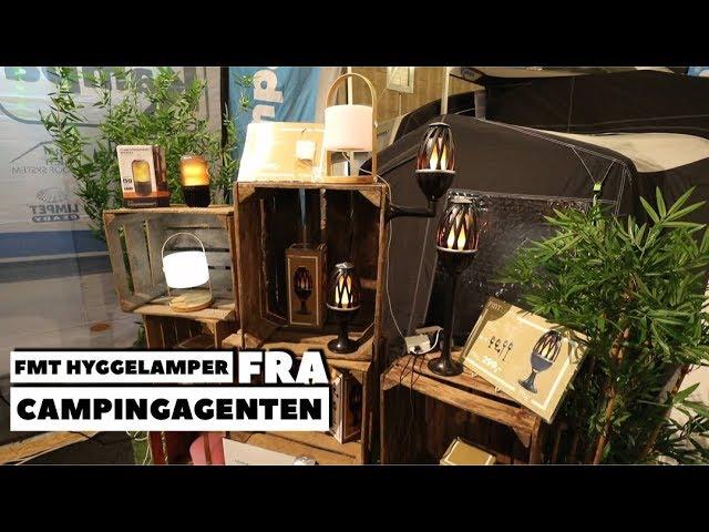 FMT hygge lamper fra Campingagenten