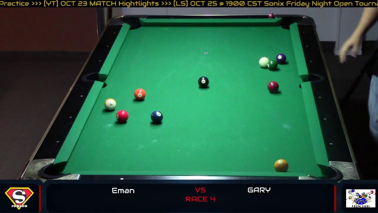 Practice day / Thursday Open Billiard 8 Ball Tournament @ Sonix