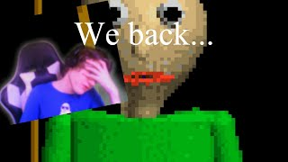 We Back In The School! | Baldi's Basics in Education and Learning