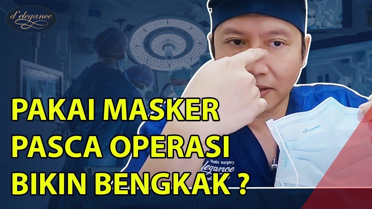 Cara memakai masker pasca op hidung - YouTube