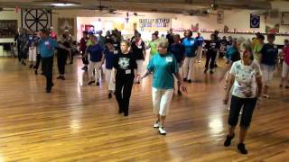 MY FOOLISH HEART Line Dance @ 2011 Ira Weisburd Workshop in Lubbock, Texas.m2ts