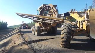 Автогрейдер Caterpillar 140K подготовка к работе(, 2014-05-30T17:33:50.000Z)
