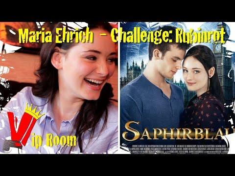 Saphirblau  Rubinrot Challenge mit Maria Ehrich