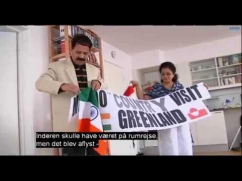 Greenlad Tv interview of Suresh kumar at NUUK,Greenland in Greenlandic