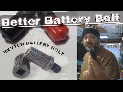 How to replace battery side post terminal bolts on GM Vehicles