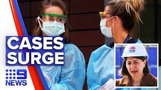 Coronavirus: NSW dealing with its largest school outbreak | 9 News Australia