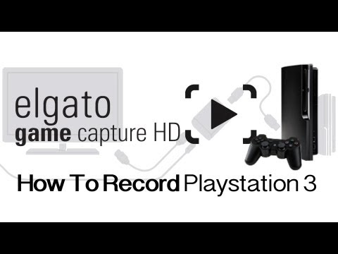 Elgato GameCapture HD - How To Connect Your PS3 (With Gameplay Previews)