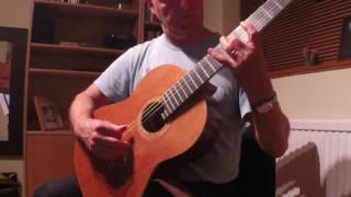 Daydream for classical guitar by Tim Rushworth