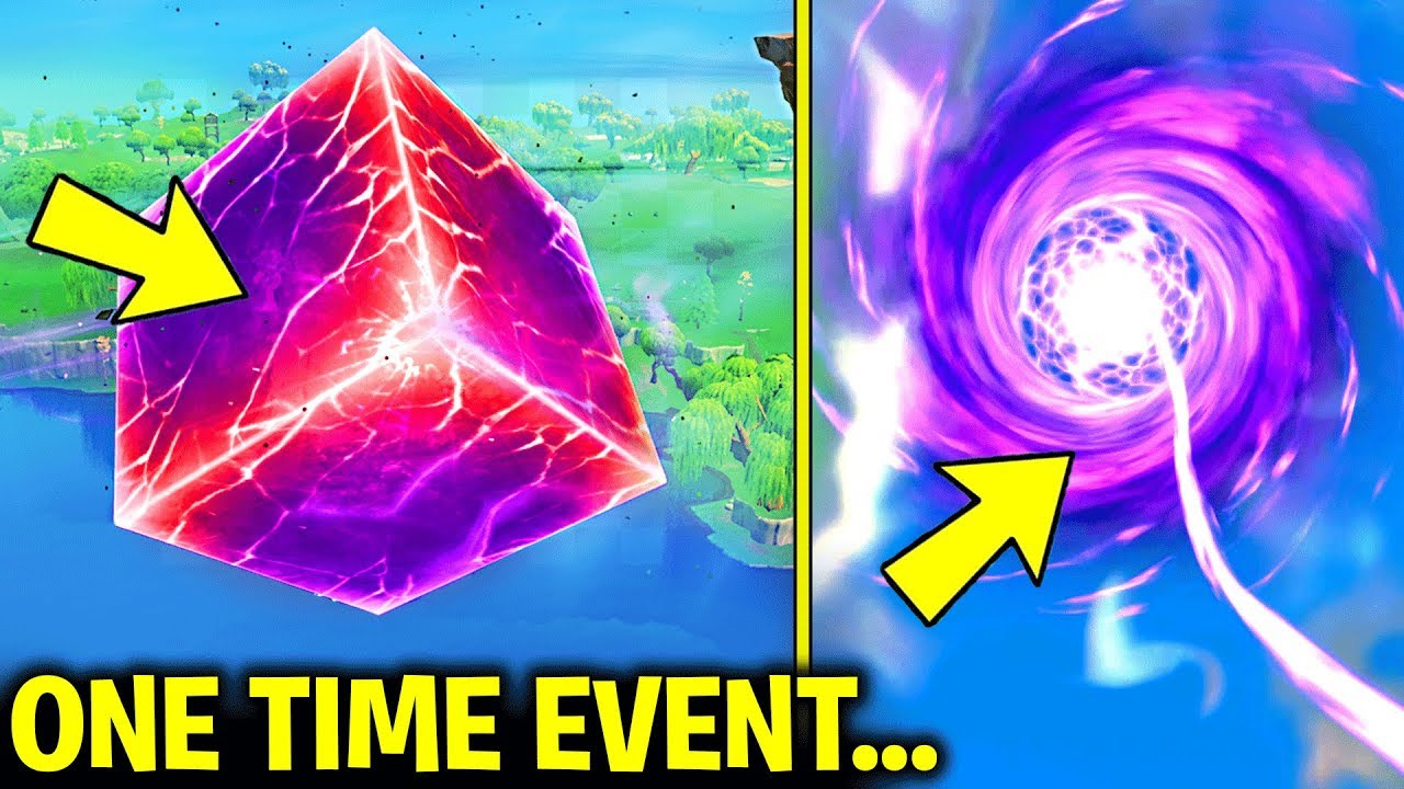 Fortnite Cube Cracking/ Sky Portal Event (ONE TIME EVENT - DONT MISS THIS)  Fortnite Battle Royale
