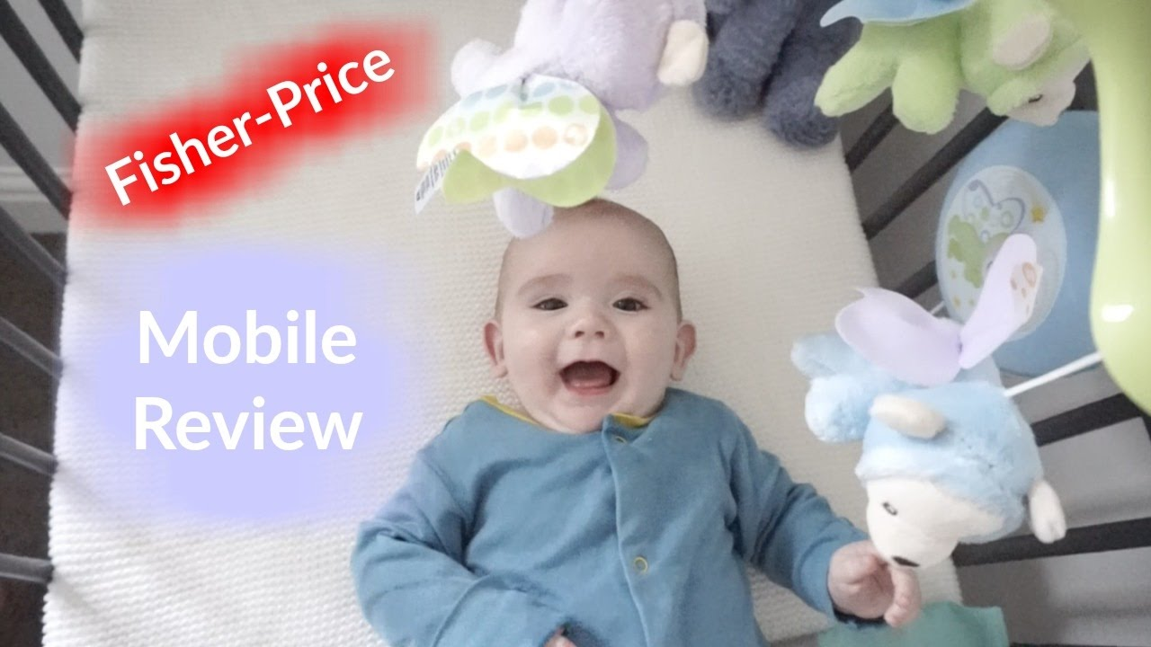 Fisher-Price CDN41 Butterfly Dreams 3-in-1 Projection Mobile