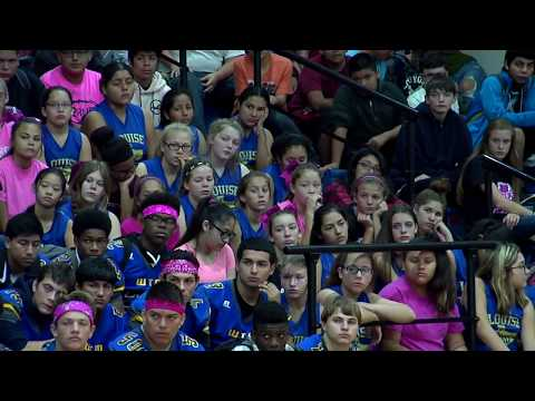 Louise High School Pep Rally - Speech by Marques Roberts