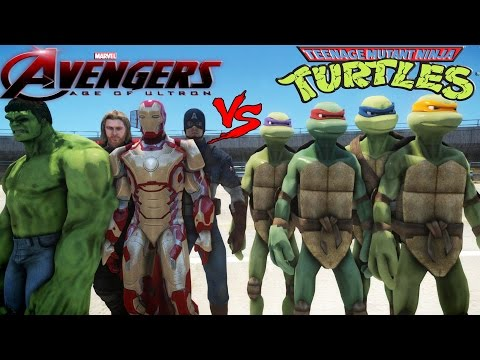 the-avengers-vs-teenage-mutant-ninja-turtles---epic-battle