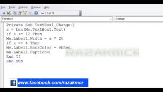 Visual Basic] Change Caption With Command - zaxey