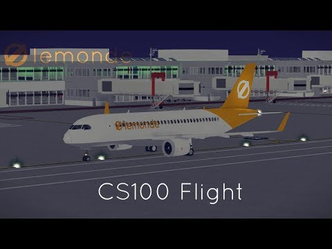 ROBLOX LeMonde CS100 Flight! (Test Flight)