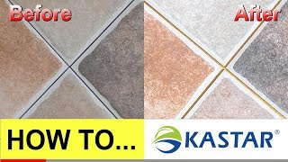 How To Seal and Fill Kitchen Wall Porcelain Tile Gaps (Kastar)