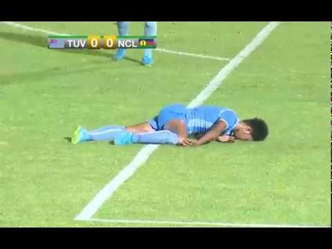 Football : Tuvalu vs NCL - Mini-jeux du Pacifique 2017