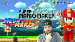 Super Mario Maker // Mega Man Maker [LIVE STREAM]