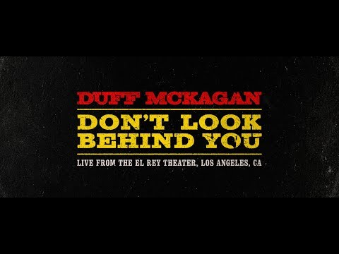 Duff McKagan – Don't Look Behind You (Live)