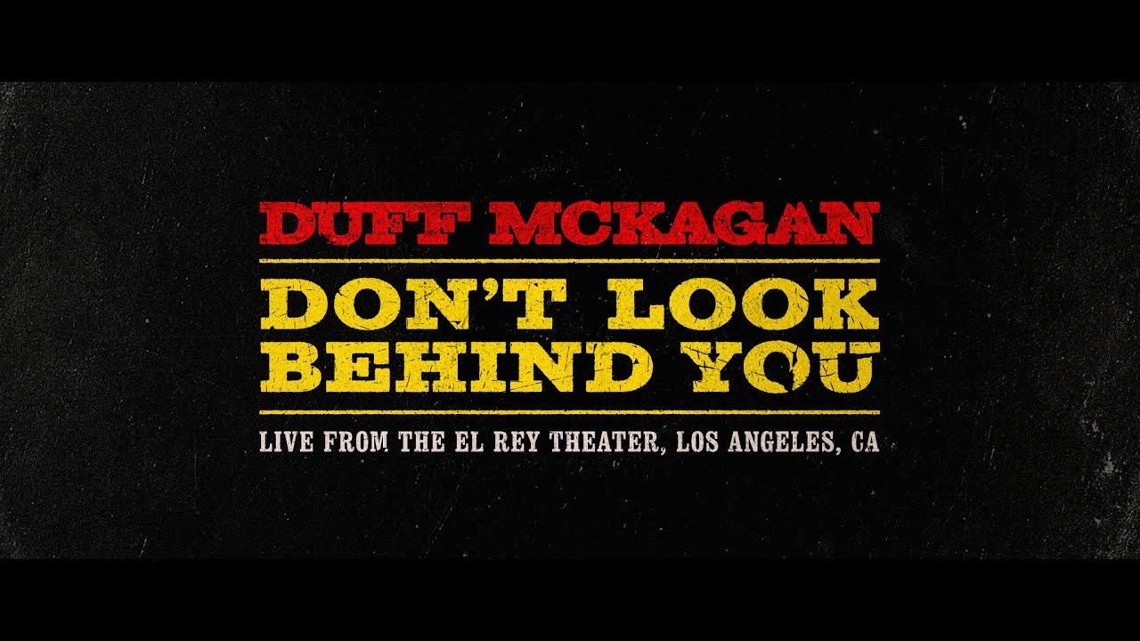 Resultado de imagem para Don't Look Behind You duff
