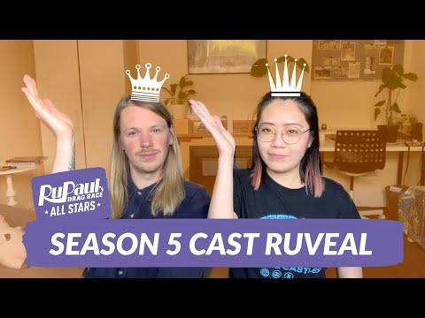RuPaul's Drag Race All Stars 5 - Entrance Look Ruveal (Reaction!)