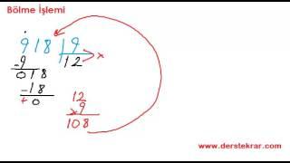 4. Sınıf Bölme İşlemi Konu Anlatımı