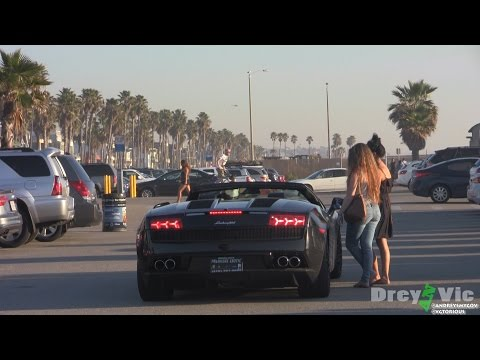 Picking up girls with Stutter in Lamborghini Prank
