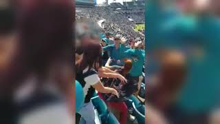 Texans fan sucker-punched at Jaguars game
