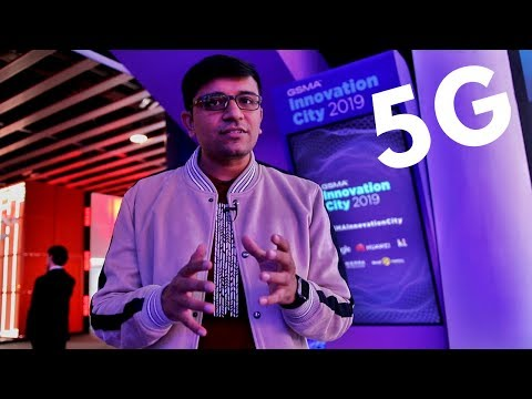MWC 2019 – GSMA Innovation City, 5G is the Future of Telecom