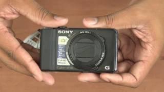 Unboxing: Sony DSC-HX9V Camera