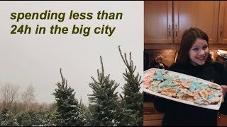 SPENDING LESS THAN 24H IN TORONTO + travel vlog