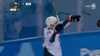 CZECH REPUBLIC vs USA, 1\4, Olympics Game 2018