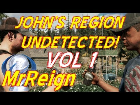 Far Cry 5 - Hard Mode - All Outposts Undetected Vol 1 - John's Region - Tutorial Playthrough