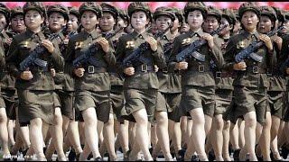 армия парад красивая женщина в мире ....