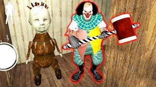 """ЗЛОЙ КЛОУН """"ОНО"""" ПЕННИВАЙЗ СТАЛ СТРАШНЕЕ - IT - Horror Clown Pennywise"""