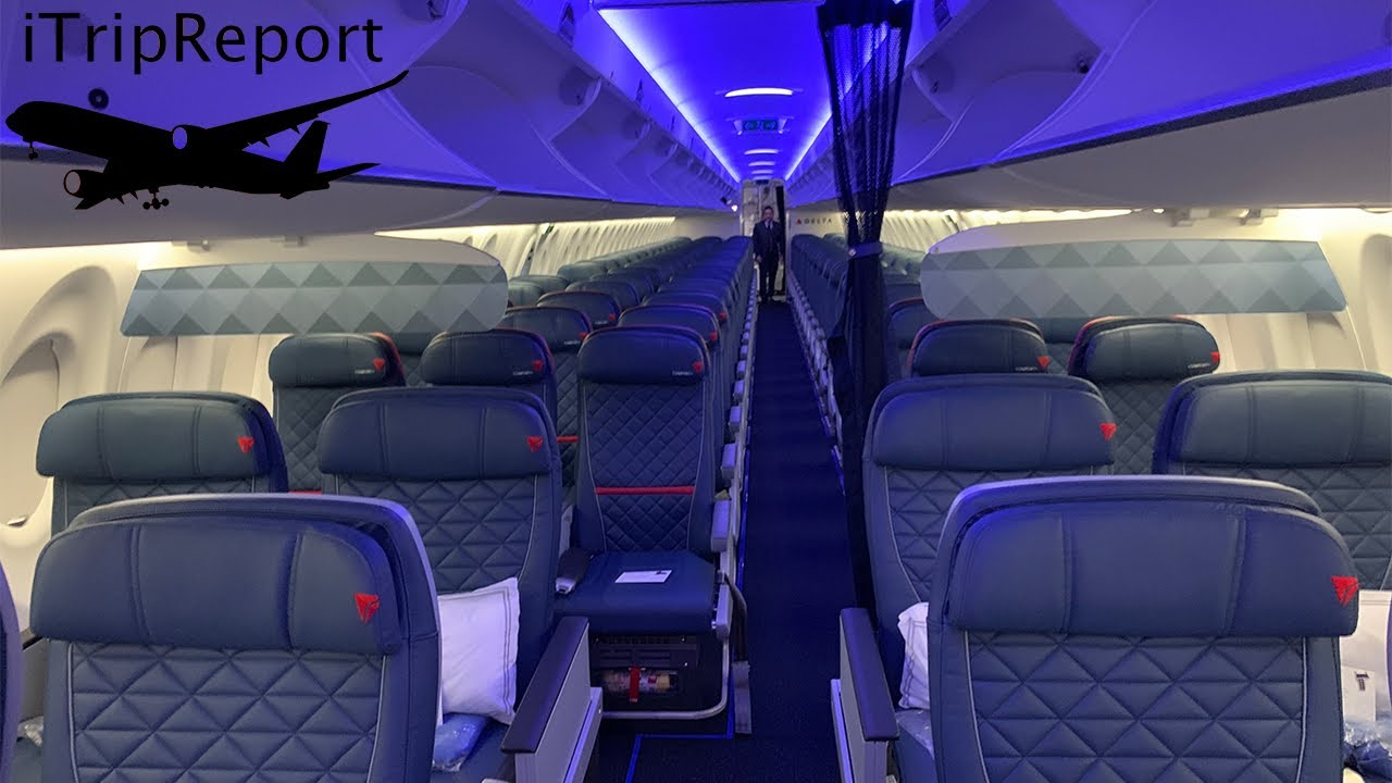Delta A220 Inaugural Flight First Class Youtube